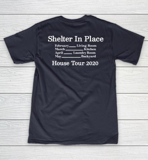 Peter Frampton Covid Stays Inside V-Neck T-Shirt 10