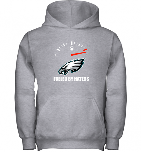 rtxo fueled by haters maximum fuel philadelphia eagles youth hoodie 43 front sport grey