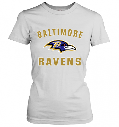 Men_s Baltimore Ravens NFL Pro Line by Fanatics Branded Gray Victory Arch T Shirt Women's T-Shirt