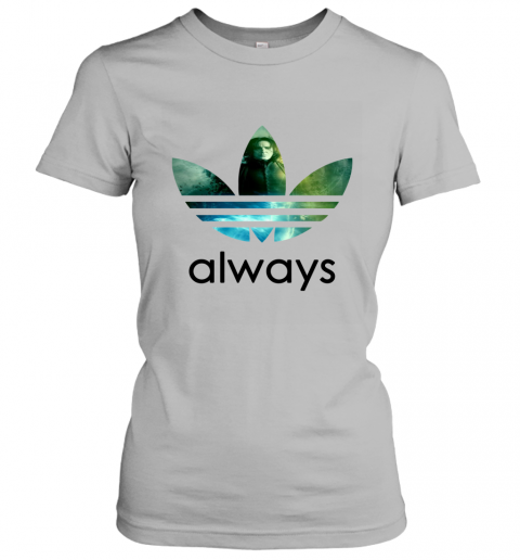x4vk adidas severus snape always harry potter shirts ladies t shirt 20 front sport grey