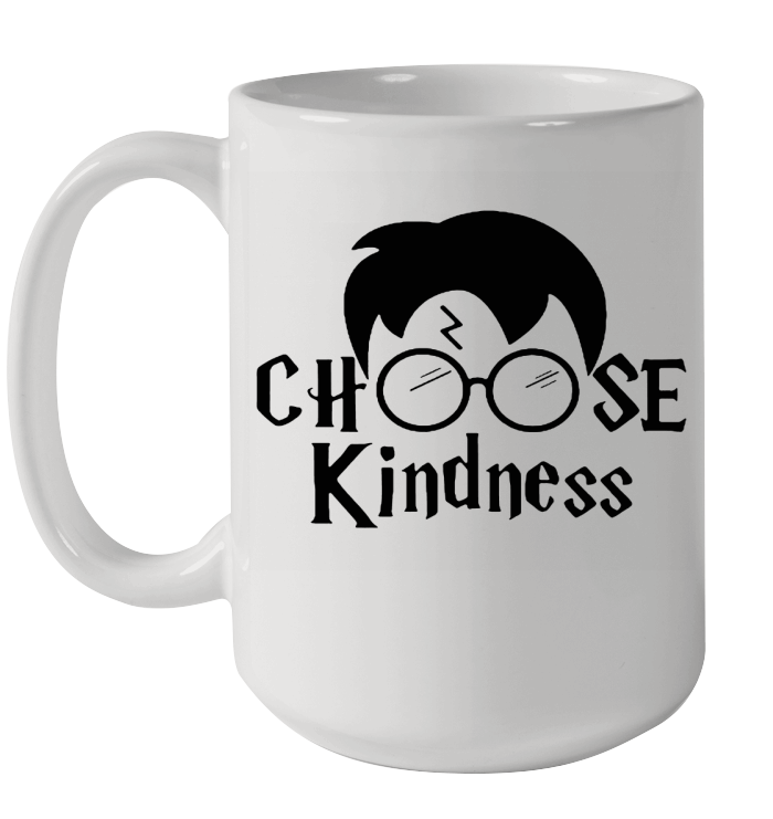 Harry Potter Choose Kindness Ceramic Mug 15oz