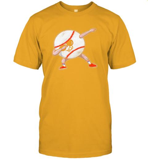 hhzs kids funny dabbing baseball player youth shirt cool gift boy jersey t shirt 60 front gold