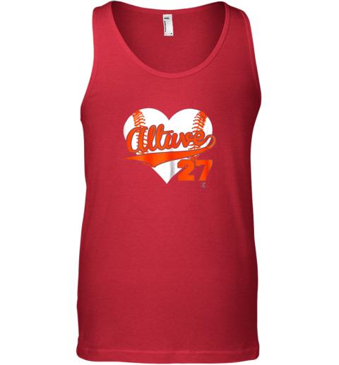 t2qo jose altuve baseball heart shirtapparel unisex tank 17 front red