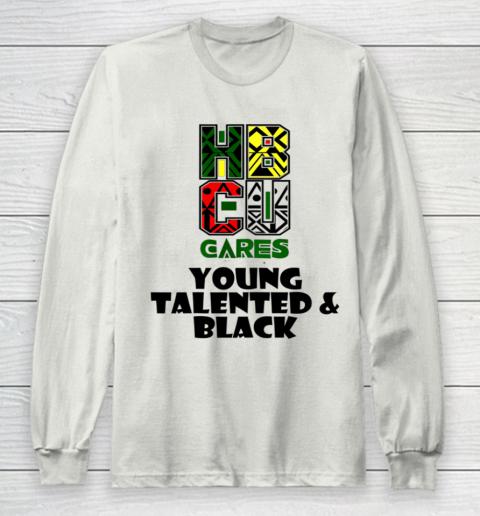 HBCU Cares College University Graduation Gift Black Schools Shirt Long Sleeve T-Shirt 9