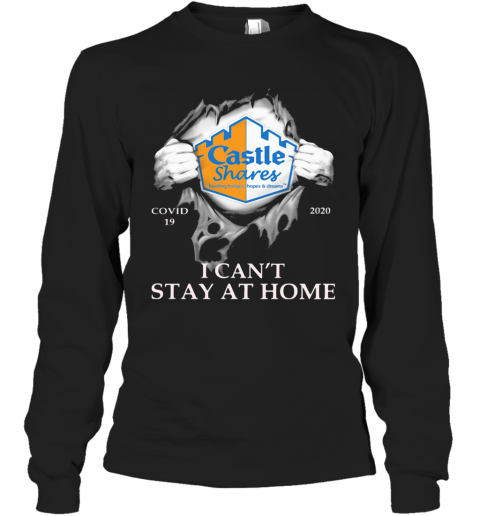Castle Shares Covid 19 2020 I Can'T Stay At Home Hand Long Sleeve T-Shirt