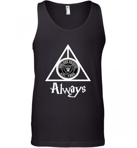 Always Love The Oakland Raiders x Harry Potter Mashup NFL Tank Top