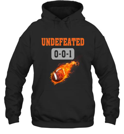 NFL CINCINNATI BENGALS LOGO Undefeated Hoodie