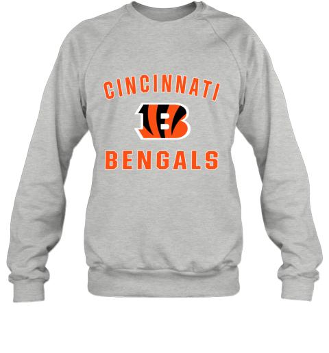 5onw cincinnati bengals nfl pro line gray victory sweatshirt 35 front sport grey