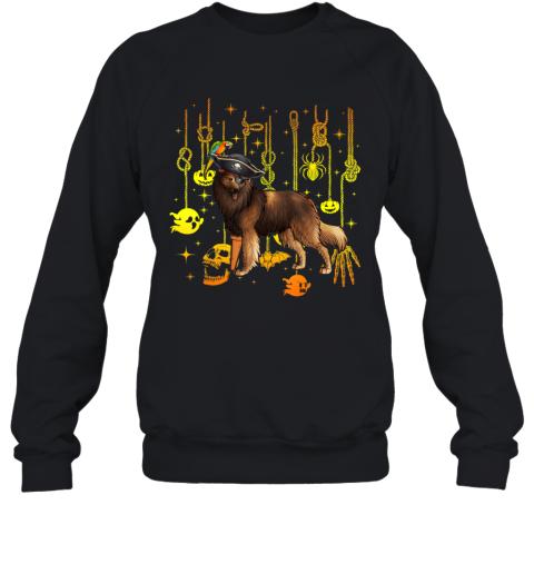 Belgian Tervuren Pirate Halloween Dog Lovers Costume Sweatshirt