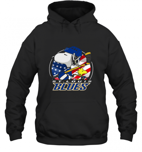 St Louis Blues   Snoopy And Woodstock NHL Hoodie