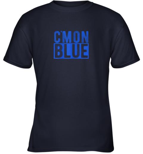 zj3j cmon blue umpire baseball fan graphic lover gift youth t shirt 26 front navy