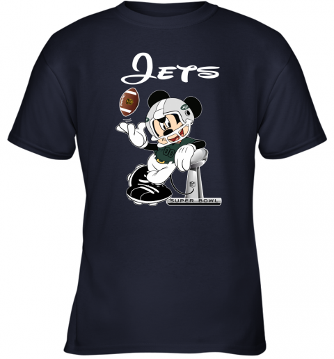 0x70 mickey jets taking the super bowl trophy football youth t shirt 26 front navy
