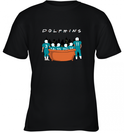 The Miami Dolphins Together F.R.I.E.N.D.S NFL Youth T-Shirt