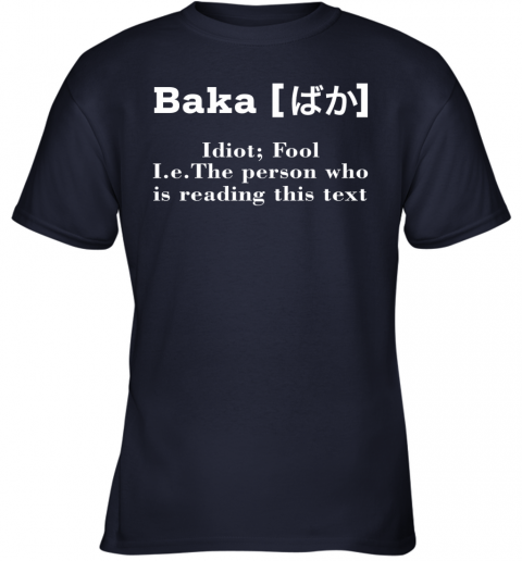 ls86 a man who makes trouble quotes chinua achebe things fall apart shirts youth t shirt 26 front navy