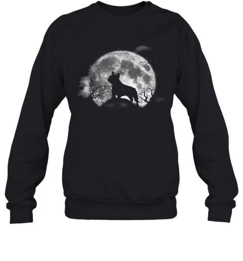 Funny French Bulldog Halloween Costume Shirt Funny Dog Lover Premium Sweatshirt