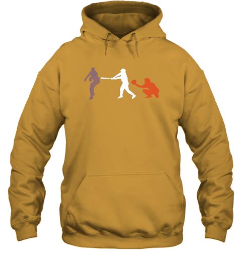 l4hn baseball usa flag american tradition spirit hoodie 23 front gold