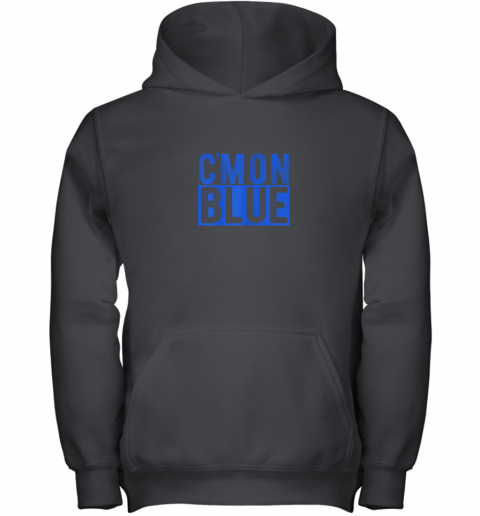 Cmon Blue, Umpire, Baseball Fan Graphic Lover Gift Youth Hoodie