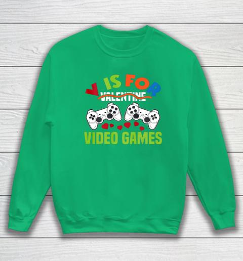 Funny Video Games Lover Valentine Day Sweatshirt 5