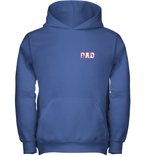 tydm mens baseball inspired dad fathers day distressed youth hoodie 43 front royal