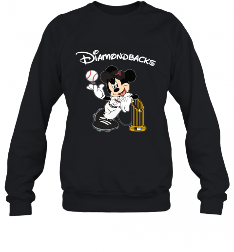 Arizona Diamondbacks Mickey Taking The Trophy MLB 2019 Sweatshirt