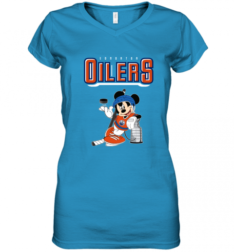 zhit mickey edmonton oilers with the stanley cup hockey nhl shirt women v neck t shirt 39 front sapphire