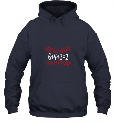 ks8d funny baseball 6432 double play shirt i gift 6 4 32 math hoodie 23 front navy