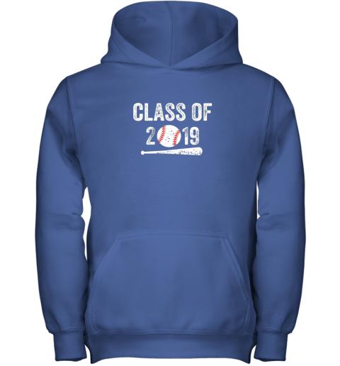 uqww class of 2019 vintage shirt graduation baseball gift senior youth hoodie 43 front royal