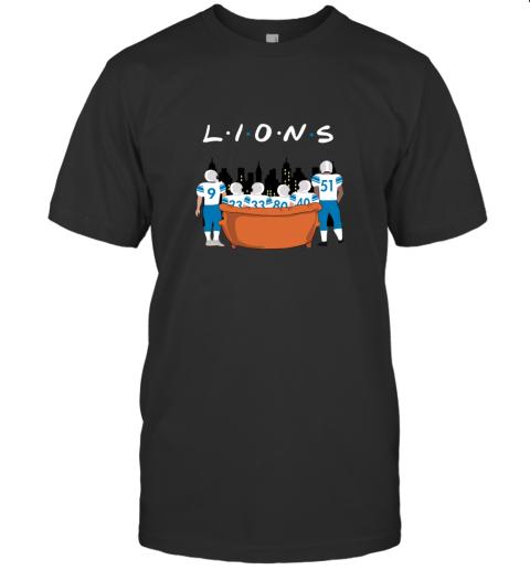 The Detroit Lions Together F.R.I.E.N.D.S NFL T-Shirt