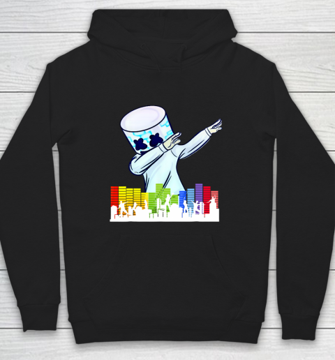 All I Want For Christmas Is Marshmallow Dancing DJ Love Hoodie