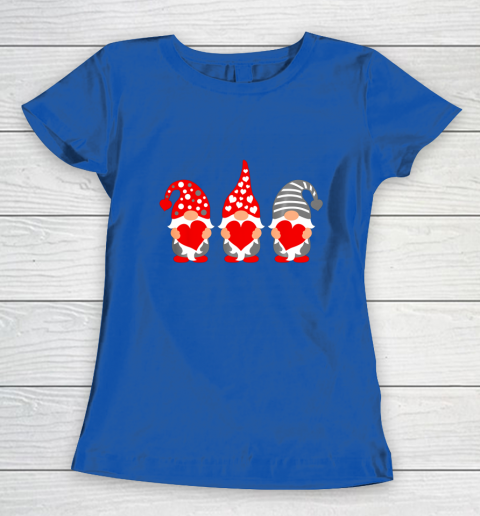 Gnomes Hearts Valentine Day Shirts For Couple Women's T-Shirt 8