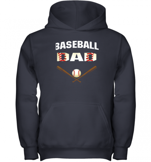 51tj mens baseball dad shirtbest gift idea for fathers youth hoodie 43 front navy