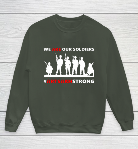 We Are Our Soldiers Youth Sweatshirt 8