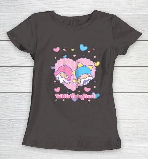 Little Twin Stars Retro Logo Valentine Women's T-Shirt 7