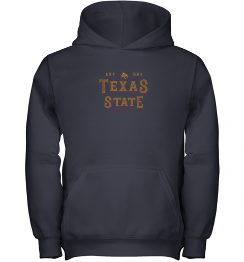 wl6c texas state bobcats womens college ncaa youth hoodie 43 front navy