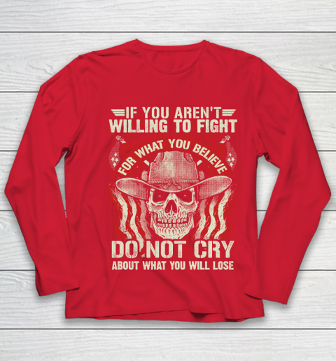 Veteran Gun Control Willing To Fight Youth Long Sleeve 8
