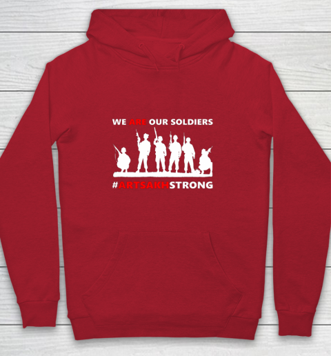 We Are Our Soldiers Youth Hoodie 7