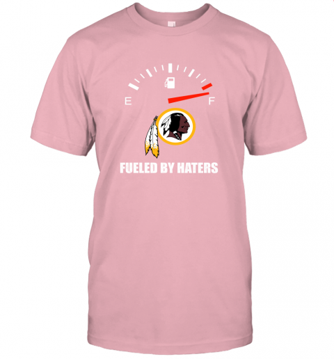 c9jm fueled by haters maximum fuel washington redskins jersey t shirt 60 front pink