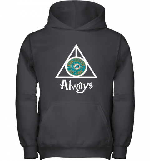 Always Love The Miami Dolphins x Harry Potter Mashup NFL Youth Hoodie