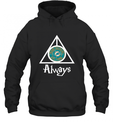 Always Love The Miami Dolphins x Harry Potter Mashup NFL Hoodie
