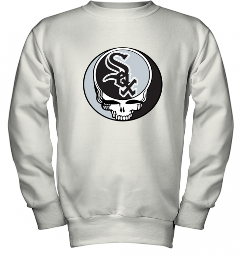Chicago White Sox The Grateful Dead Baseball MLB Mashup Youth Sweatshirt