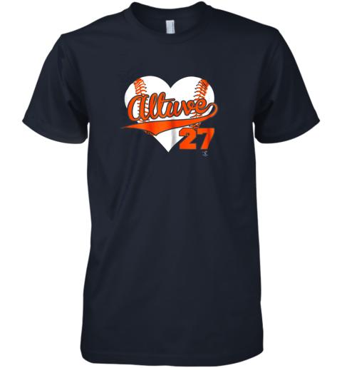 yogf jose altuve baseball heart shirtapparel premium guys tee 5 front midnight navy