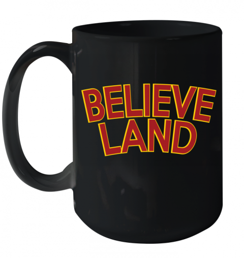 BELIEVELAND Ceramic Mug 15oz