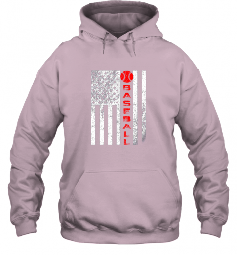 qac8 usa red whitevintage american flag baseball gift hoodie 23 front light pink