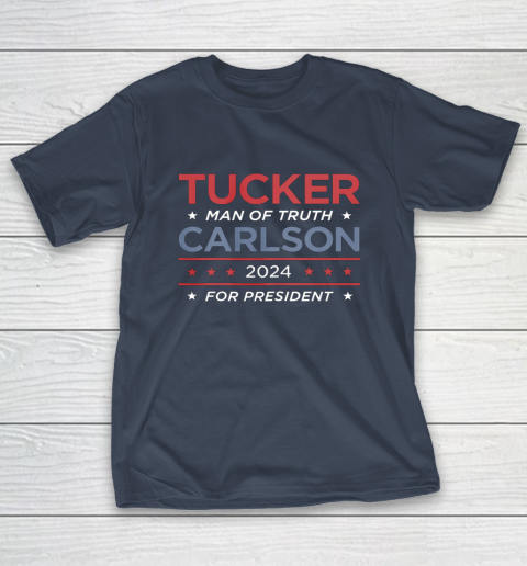 Vote For Tucker Carlson 2024 Presidential Election Campaign T-Shirt 3