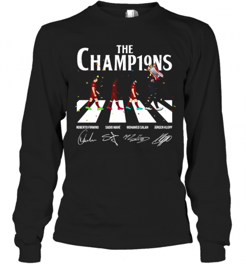 Liverpool Fc The Champ19ns Long Sleeve T-Shirt