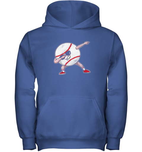 y8bt kids funny dabbing baseball player youth shirt cool gift boy youth hoodie 43 front royal