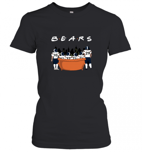 The Chicago Bears Together F.R.I.E.N.D.S NFL Women's T-Shirt
