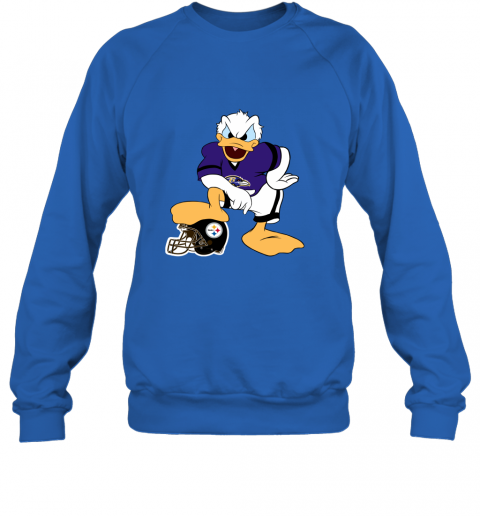 sflm you cannot win against the donald baltimore ravens nfl sweatshirt 35 front royal