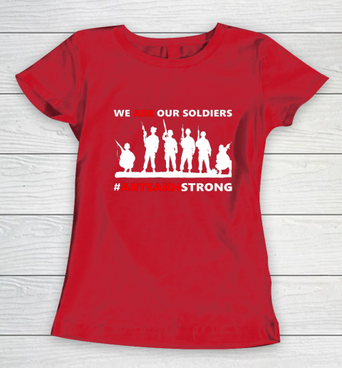 We Are Our Soldiers Women's T-Shirt 9