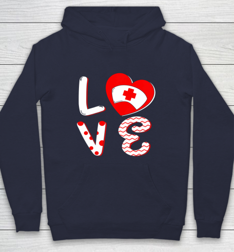 Medical Nurse Valentine Day Shirt Love Matching Hoodie 2